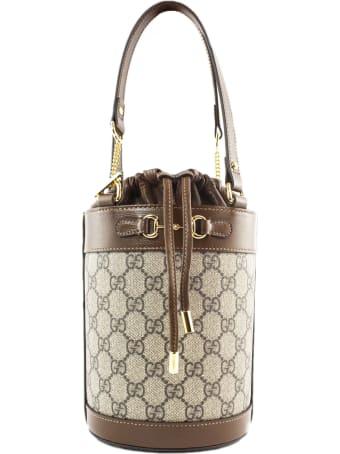 Gucci Gucci Horsebit 1955 Small Bucket Bag
