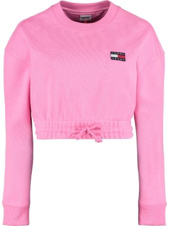Tommy Jeans Cotton Crew-neck Sweatshirt