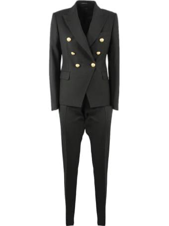 Tagliatore Black Alicya Suit
