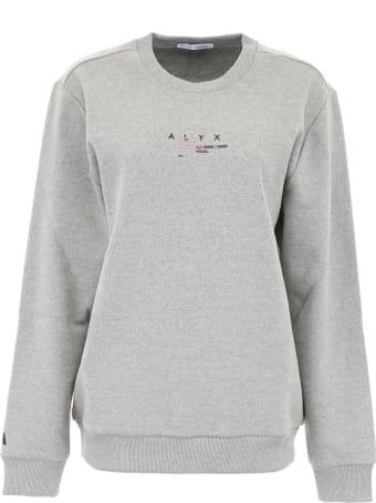 1017 ALYX 9SM Sweatshirt With Print
