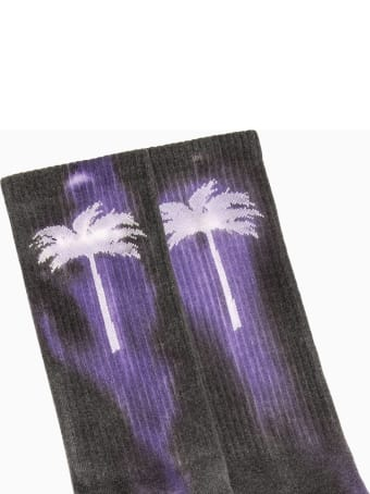 Palm Angels Palm Angel Tie Dye Palm Socks Pmra001r20395040