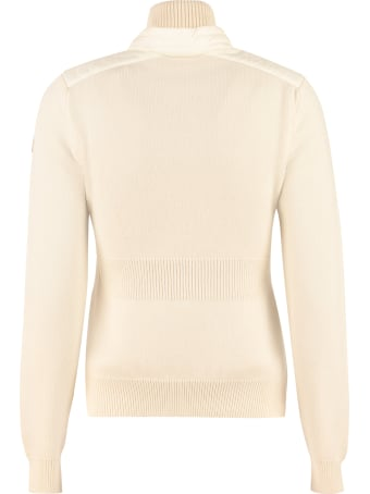 Moncler Grenoble Cardigan With Padded Front Panel