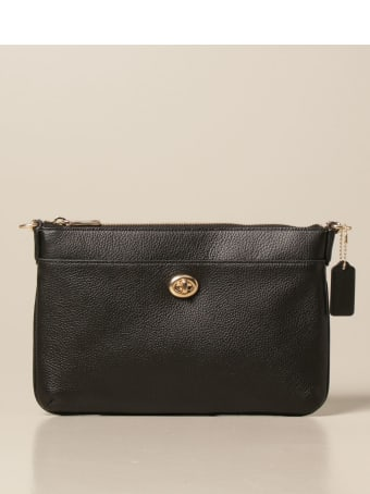 Coach Crossbody Bags Polly Coach Shoulder Bag In Textured Leather