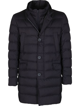 Herno Navy Blue Down Jacket
