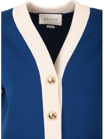 Gucci blue wool jacket