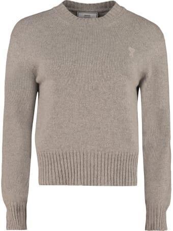 Ami Alexandre Mattiussi Crew-neck Cashmere Sweater