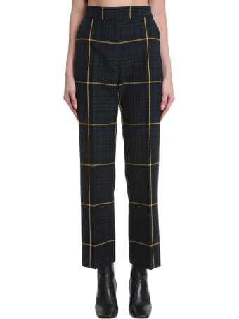 Tommy Hilfiger Pants In Green Polyester