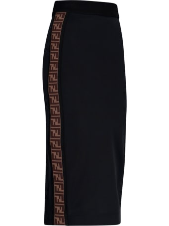 Fendi Side Bands Skirt