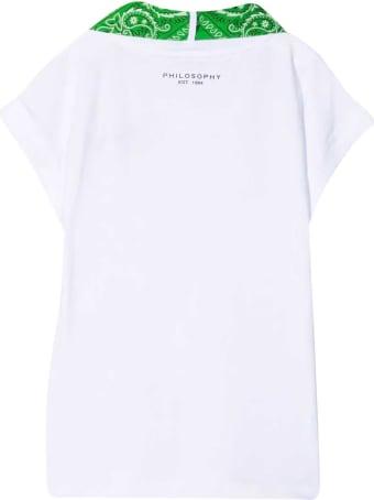 Philosophy di Lorenzo Serafini Kids White T-shirt