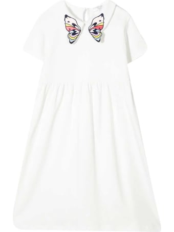 Charabia Dress With Embroidery