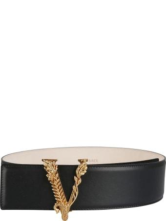 Versace V-embellished Belt