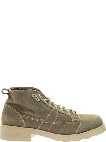 OXS Frank 1000 - Laced Canvas Ankle Boot
