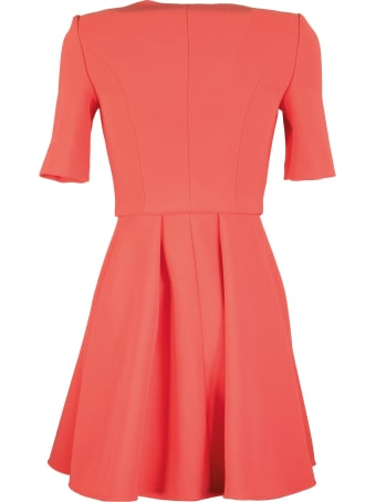 Elisabetta Franchi Celyn B. Flared Double-breasted Dress