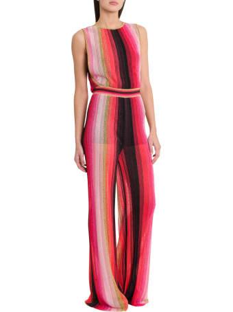 M Missoni Striped Lurex Jumpsuit