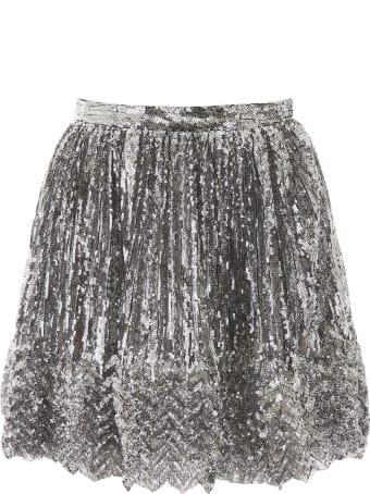 Marco de Vincenzo Sequins Mini Skirt