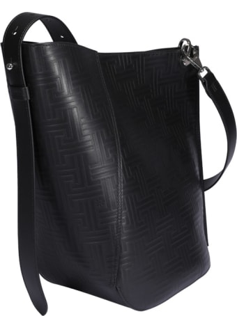 Lanvin Asymmetrical Medium Bucket Bag