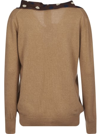 Jejia Bow Applique Sweater