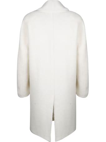 Laneus Combed Alpaca Coat