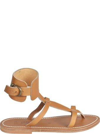 K.Jacques Caravelle Flat Sandals