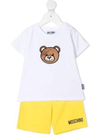 Moschino Bear Shorts T-shirt And Shorts Suit