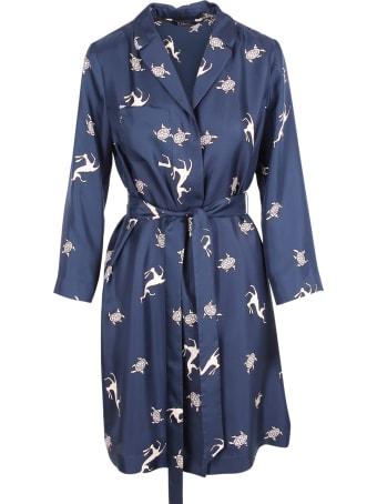 'S Max Mara 'tritone' Silk Dress