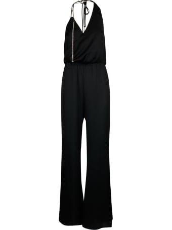 Patrizia Pepe Satin Jump Suit