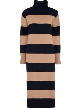 Max Mara Musa Striped Knit Dress