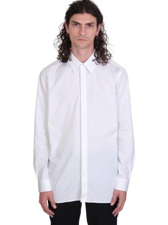 IRO Rivers Shirt In White Cotton