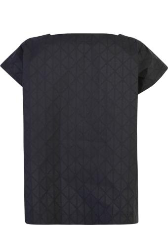 Issey Miyake Geometric Pattern T-shirt