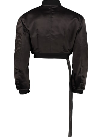 Ben Taverniti Unravel Project Nylon Bomber Jacket