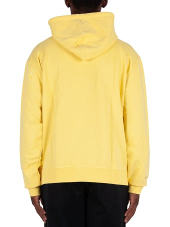 Vyner Articles Gradient Print Hoodie - Yellow