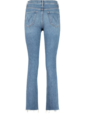 Mother High Waisted Rascal Ankle Snip 5-pocket Jeans