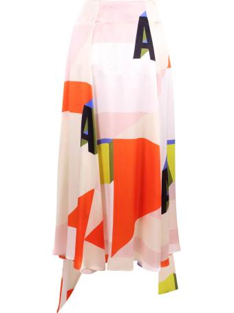 Arthur Arbesser Silk Skirt