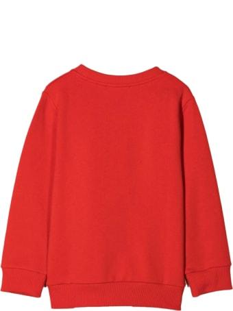 Balmain Red Cotton Sweatshirt