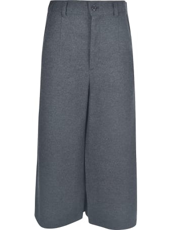 Zucca Wide-leg Cropped Trousers