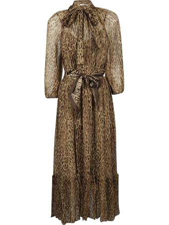 Zimmermann Animal Print Dress