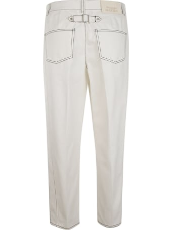 Alexander McQueen Straight Long Trousers