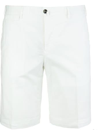 PT Bermuda Man Off White Bermuda Shorts
