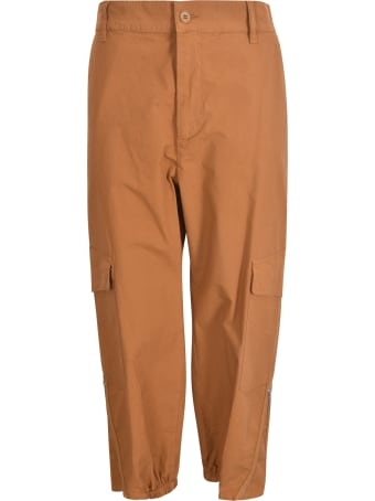 Barena Cropped Cargo Trousers