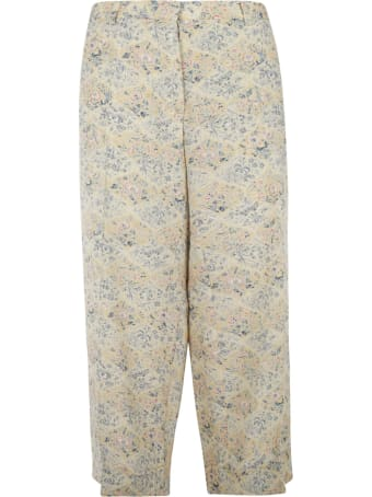 Ibrigu Floral Print Long Trousers