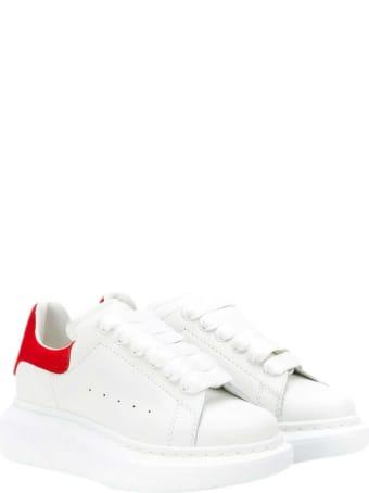 Alexander McQueen Kids White Sneakers