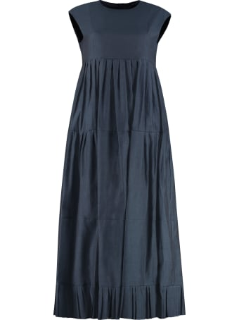 'S Max Mara Lidia Cotton-silk Blend Dress