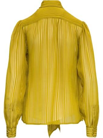 Saint Laurent Lurex Silk Blouse