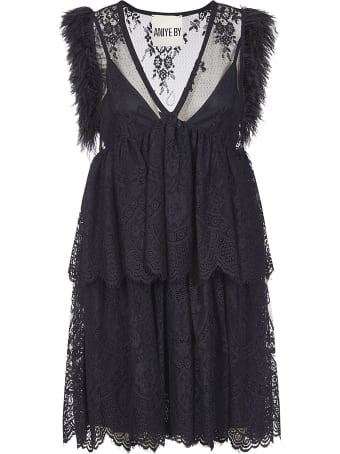 aniye by Sleeveless Fringed Dress