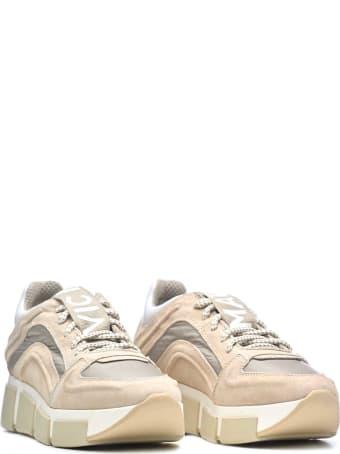 Vic Matié Vic Matié Suede And Nylon Sneakers