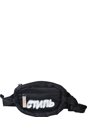 HERON PRESTON Logo Spray Belt Bag