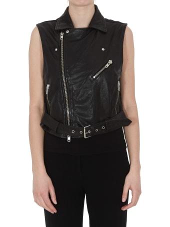 Bully Leather Waistcoat