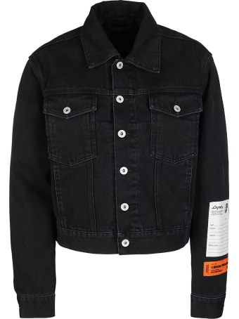 HERON PRESTON Black Denim Jacket