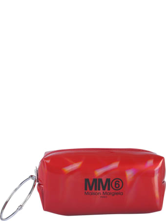 MM6 Maison Margiela Clutch With Logo And Ring