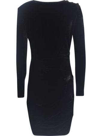 Veronica Beard Button Embellished Dress